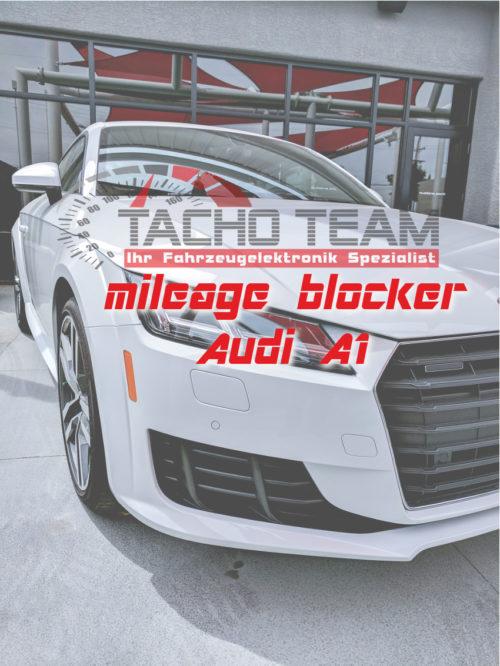 mileage stopper Audi A1