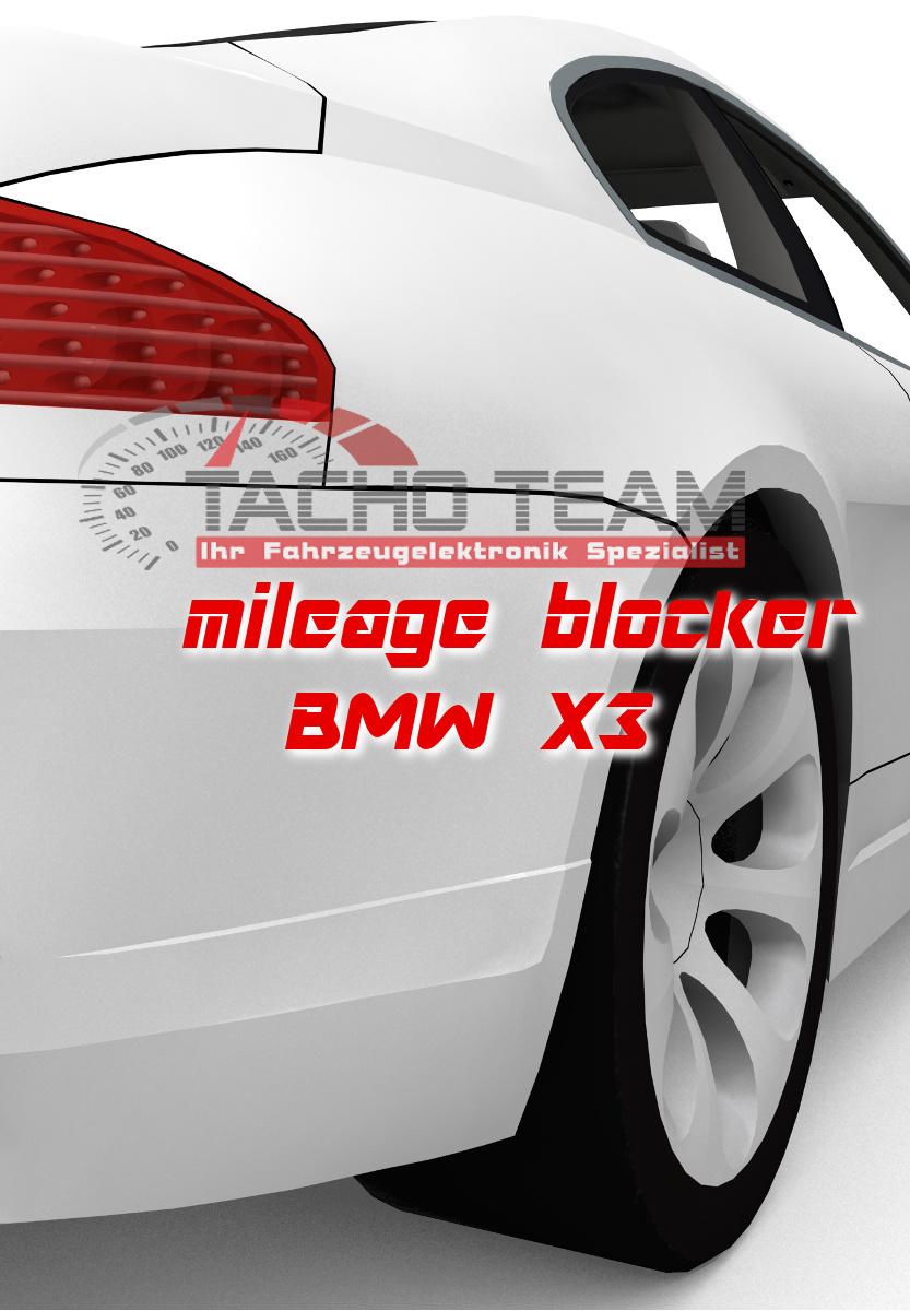 mileage stopper BMW X3