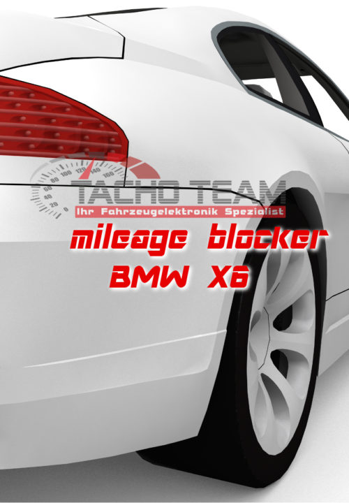 mileage stopper BMW X6
