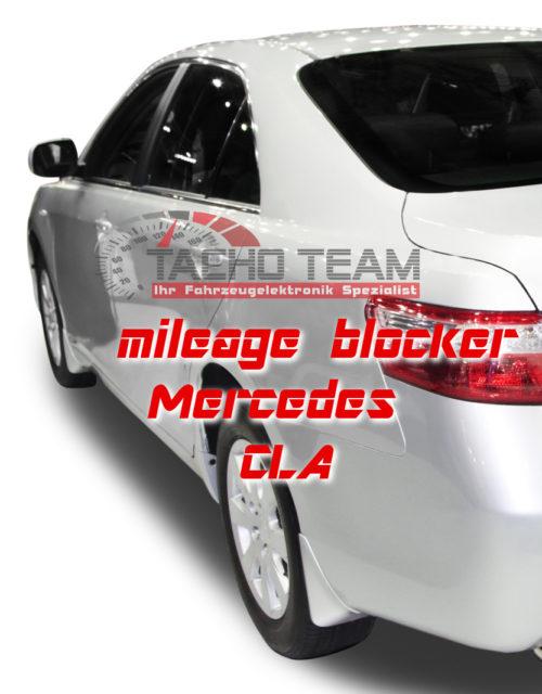 mileage stopper Mercedes CLA W117