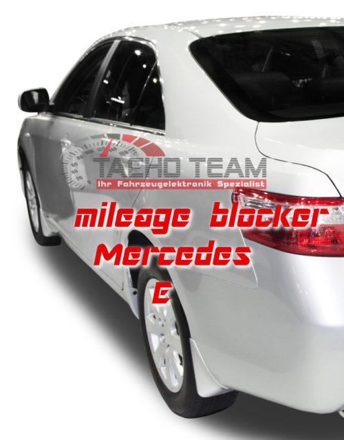 mileage stopper Mercedes E-Class