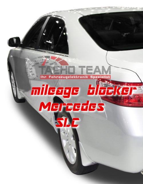 mileage stopper Mercedes SLC