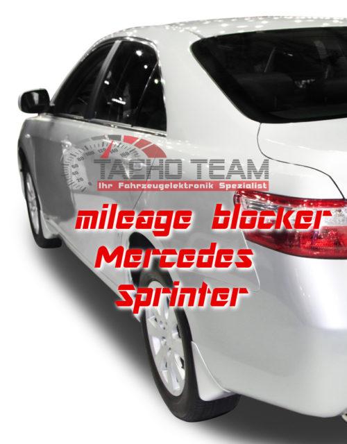 mileage stopper Mercedes Sprinter W906